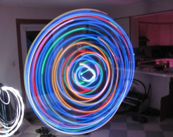 Crypical Envelopment LED Hoop - Featured Pattern 65 dollars