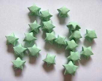 100 Origami Stars - Melon Green