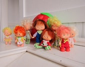Strawberry Shortcake Doll Collection and Strawberry Carrying Case