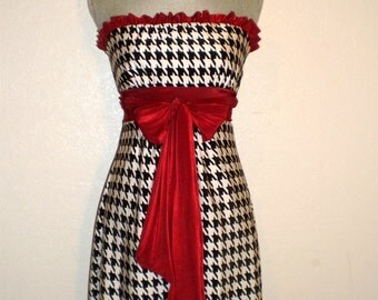 Game day Dress Bama houndstooth Gorgeous. Small ONLY