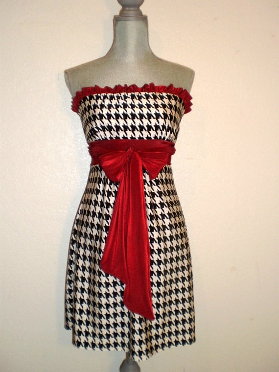 Game day Dress Bama houndstooth Gorgeous for tailgating Roll Tide style