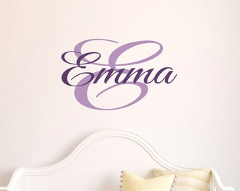 Wall Decal Childrens Personalized Name - Name Wall Decal - Childrens Wall Art -Girls Name Wall Decal