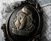 See you on the Other Side Cameo Pendant