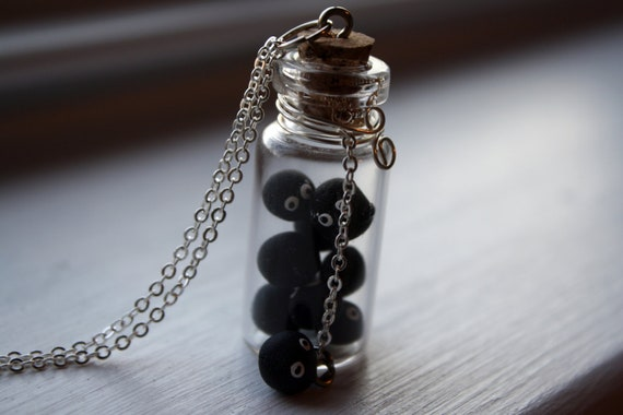 My Neighbor Totoro/Spirited Away Bottle of Tiny Soot Sprites