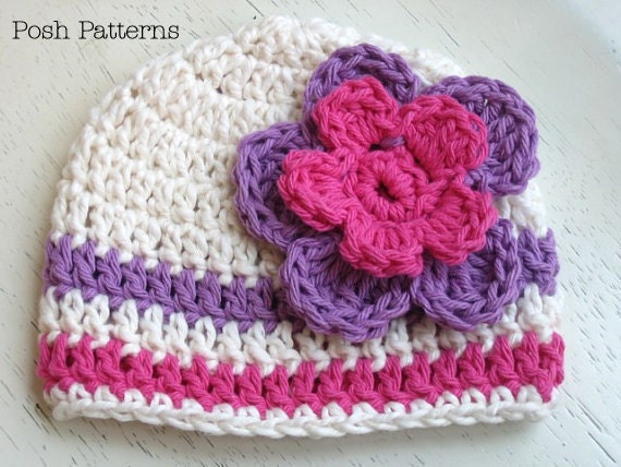 Beanie Hat Crochet Pattern For Child Crochet Pattern Crochet Hat