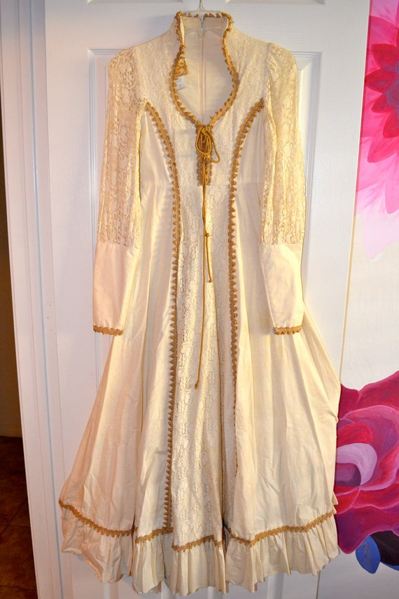 1970 S Gunne Sax Wedding Gown By Yager91 On Etsy