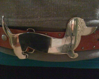 Dachshund Belt Buckle
