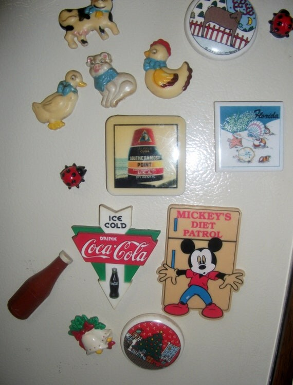 RESERVED for Carla C Vintage Magnet Coca Cola only 1.20 USD