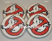 Ghostbusters Decorated Sugar Cookies 1 Dozen