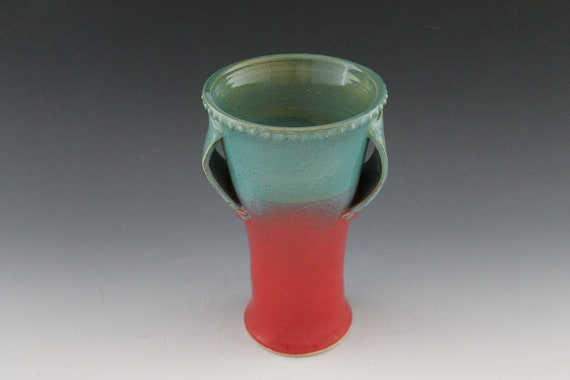 Vase - Red and Blue