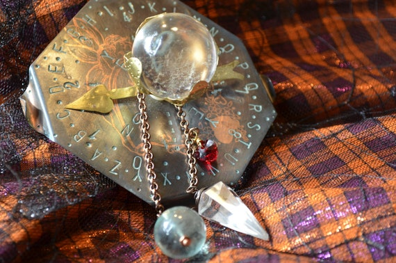 Ouija/Spirit/Pendulum/Crystal Ball Copper Board: Flirty Fairy Themed
