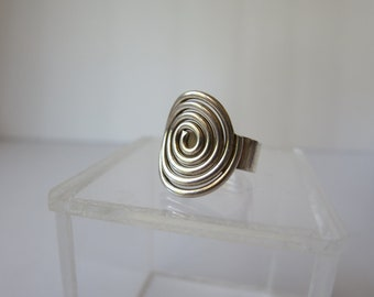 Ring ,Silver  925 , Size 7 ,Swirl, NOW ON SALE