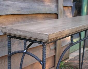 Custom Industrial Coffee Table Sofa Table Side Table