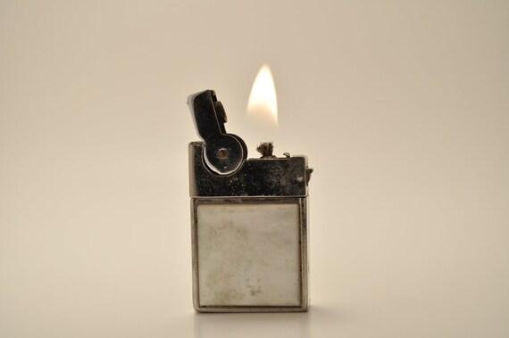 Working Petite ASR Mother of Pearl Pocket Lighter