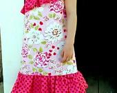 SAVANNAH ONE Shoulder top/dress - PDF Pattern - Sizes 3M -Girls 6y