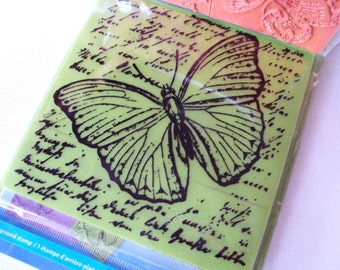 Insect Amalgam 7 piece rubber cling stamps by Inkadinkado