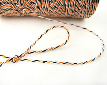 Halloween Bakers Divine Twine, Divine Twine, black and orange twine by Lil Things Count