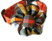 CANDY CORN Collar and Bow Set - Available in All Sizes