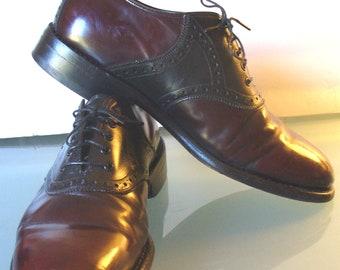 Johnston & Murphy Vintage Saddle Shoes Size 8.5