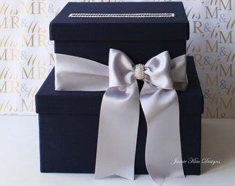 Wedding Card Box, Money Box, Wedding Box, Gift Card Holder- Custom Card Box