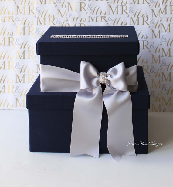 Glass Wedding Gift Box : Wedding Card Box, Money Box, Wedding Box, Gift Card Holder- Custom ...