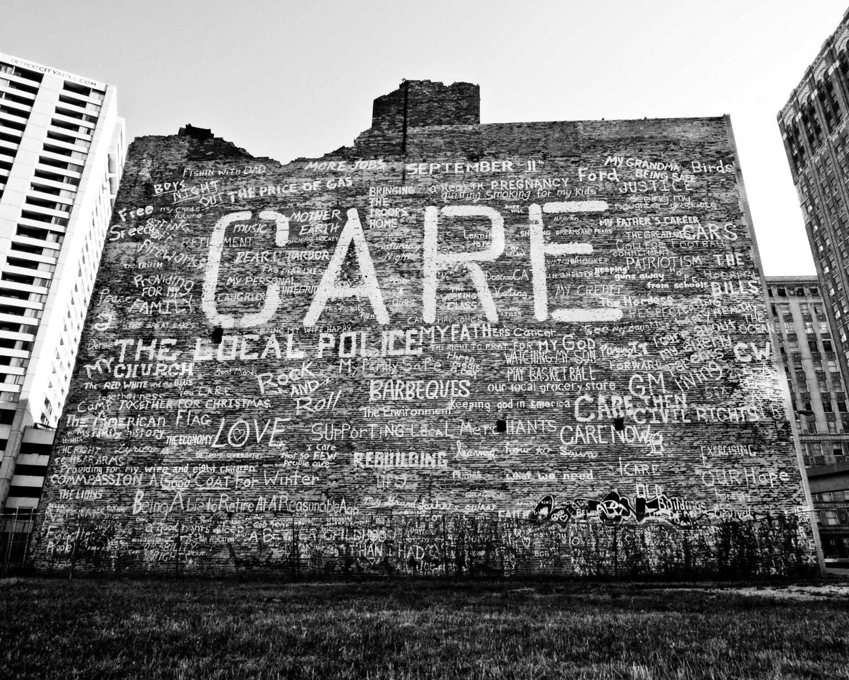 Graffiti wall black -  Zoom