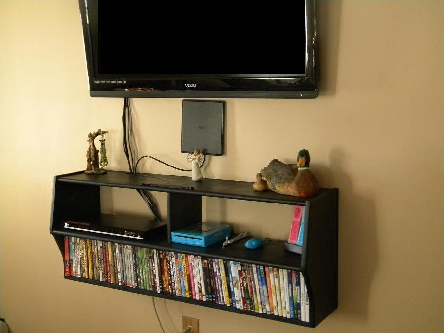 Unavailable listing on etsy - Tv wall mount with shelf ...