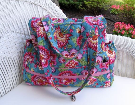 Sophie READY-TO-SHIP Diaper Bag and Changing Pad  / Toddler Diaper Bag
