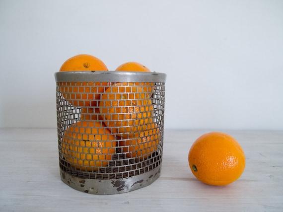 reserved for ali - vintage wire basket