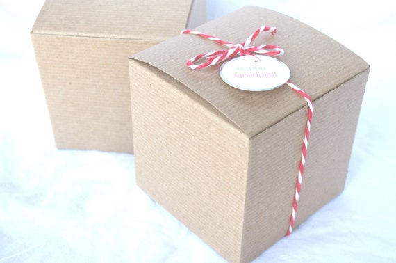 Michaels Brown Favor Boxes : Brown kraft gift boxes x diy craftsparty favors