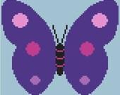 Butterfly Baby Blanket Pattern