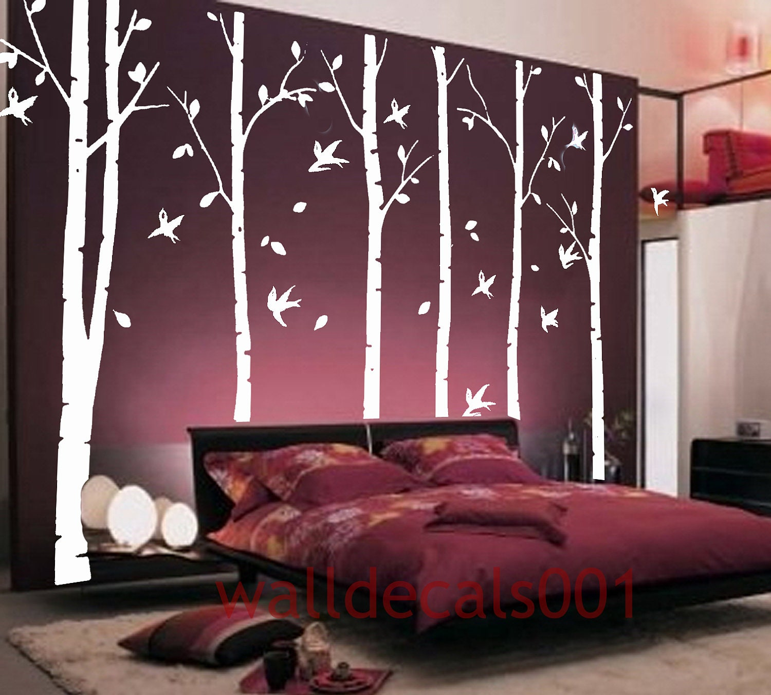 Whimsical Bedroom Decorating Ideas: Wall Decal Tree Decal Kids Decals Wall Stickers Kids Wall Art