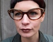 Vintage Christian Lacroix Cat Eye Glasses Frames