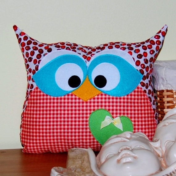 Lucy the Owl Pillow