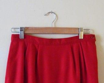 Pendleton Wool Pencil Skirt M 28 Waist