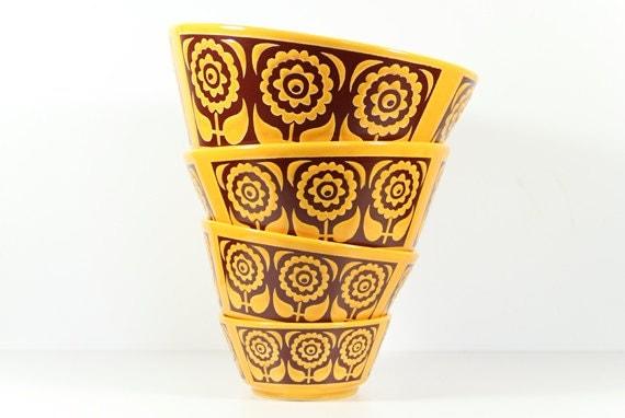 German Ceramic Bowl Set Ceramic Pottery Waechtersbach Instant Collection