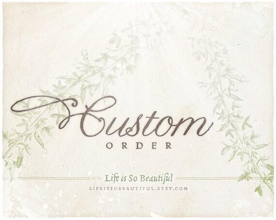 Custom Listing for Denee' - 20 5x6 bags All You Need Is Love RUSH