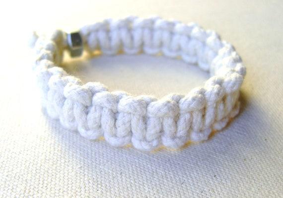 Solomon Bar Rope Bracelet - Men's / Unisex