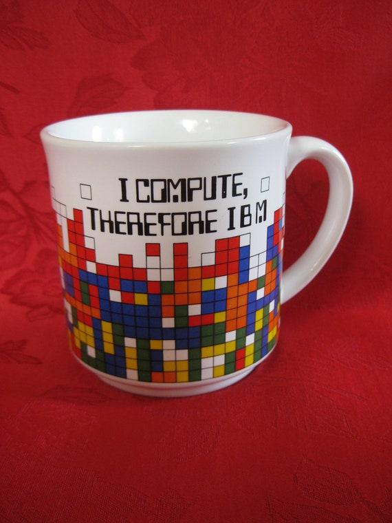 Vintage IBM Tetris Mug