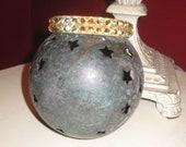 Large stone Jonquil AB Swarovski Crystal Bangle