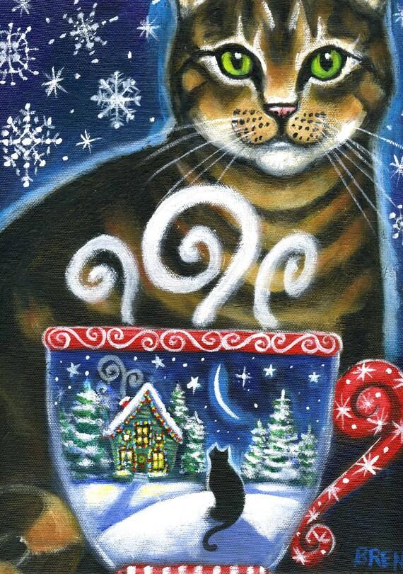 Christmas Magic 5x7 Print By Brenna White Winter
