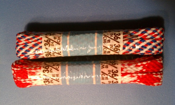 Deadstock boho shoelaces hippie 36 inches