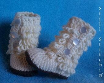 Crochet Furrylicious Boots