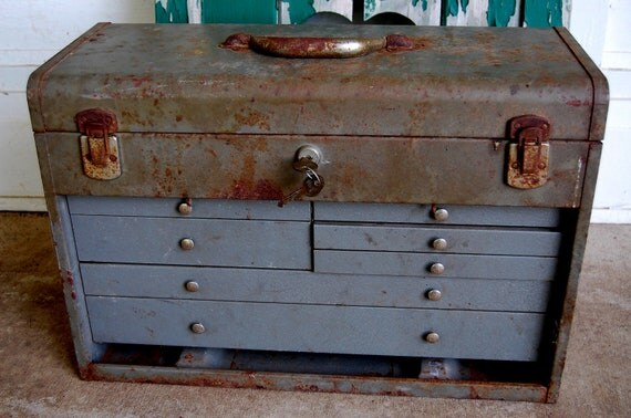 REDUCED.....Mechanics Tool Chest to Repurpose