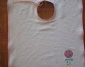 Custom Order for D.Lane - Custom Terry Cloth embroidered Bib