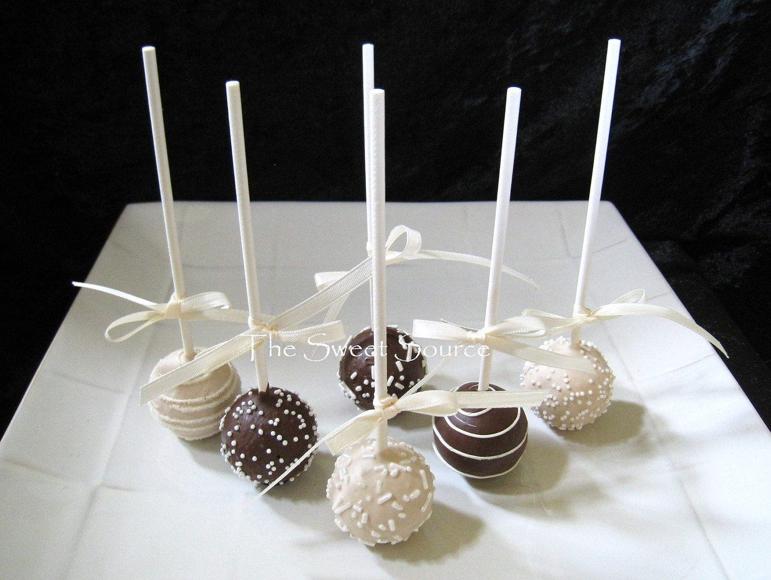 cake pops wedding favors items similar to wedding favors wedding cake pops made to 2303