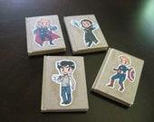 Avengers mini notebooks