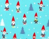 Gnome Fabric, Mini Gnomes Michael Miller, 1 YD