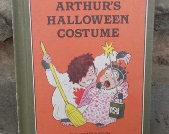 Vintage Arthur's Halloween Costume Lillian Hoban Price Includes US Shipping