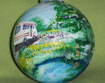 Custom Hand Painted Keepsake Ornaments